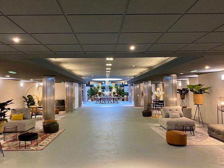 ECC Leiden lobby view