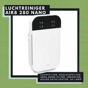 AIR 280 Nano luchtreiniger