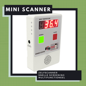 Koortsdetectie mini-scanner