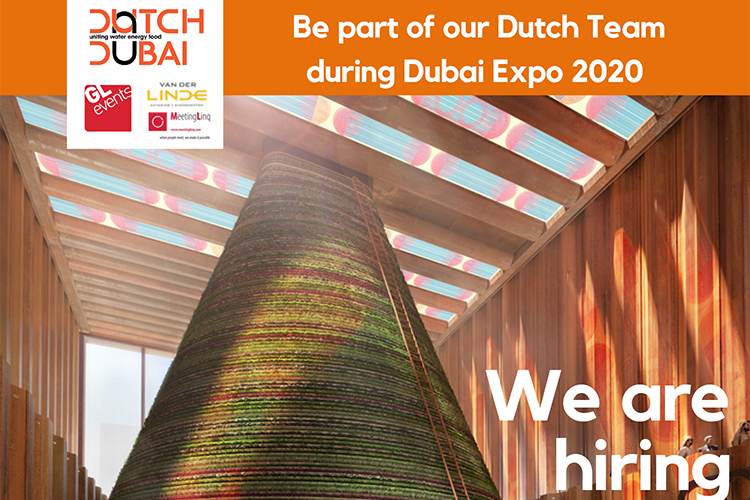 Vacancies Expo 2020 Dutch Pavilion