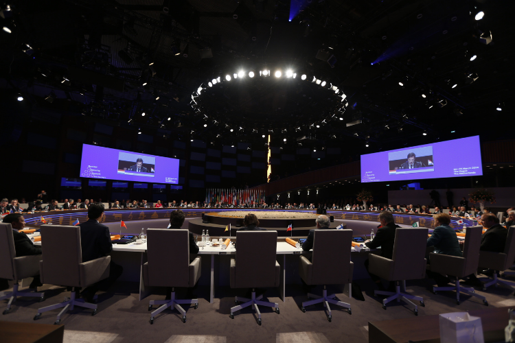 NSS conference at World Forum The Hague