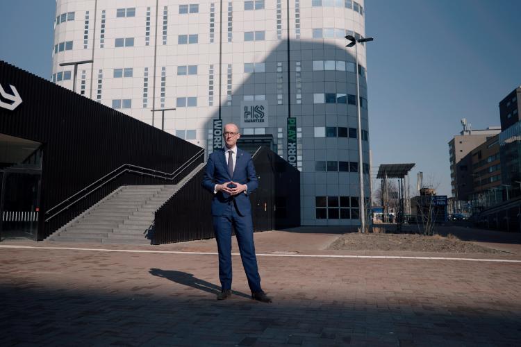 Erik-Jan Ginjaar voor Postillion Hotel & Convention Centre Den Haag