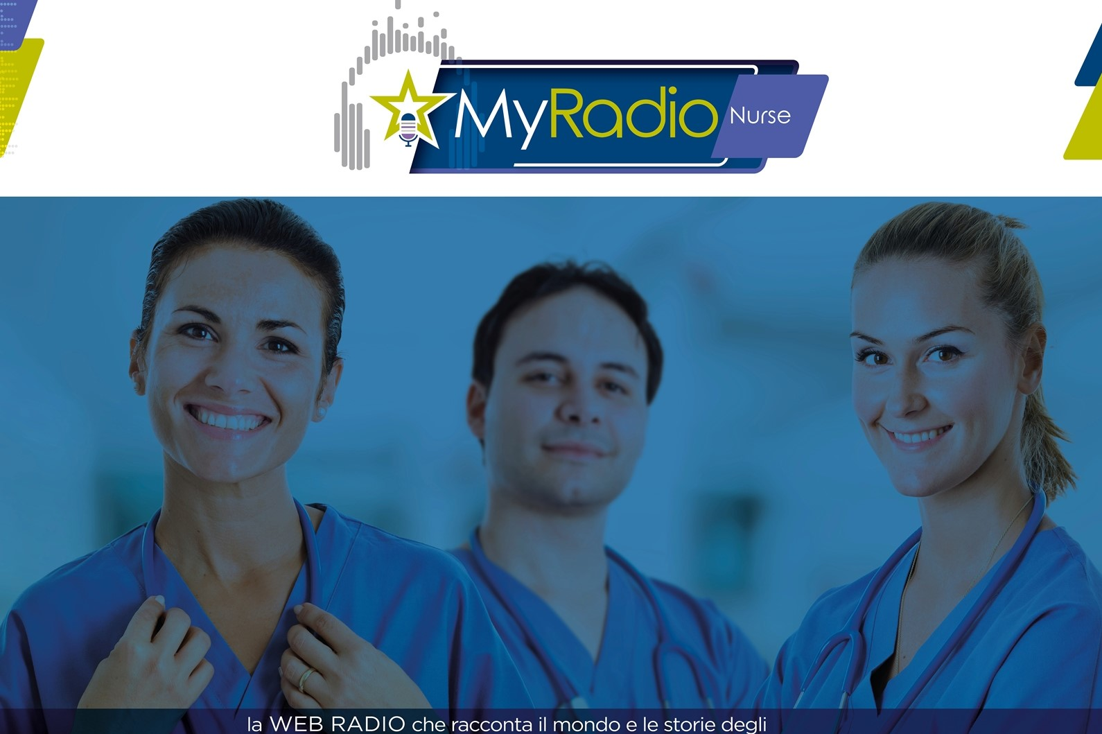 Homepage MyRadio Nurse