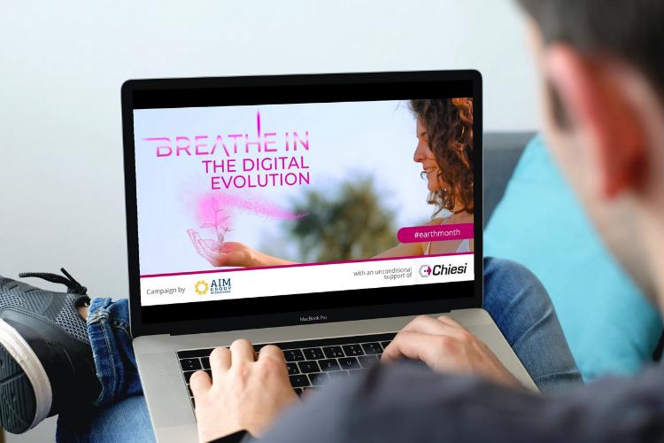 Breathe in the digital evolution webportal
