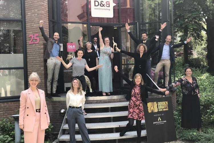 D&B Eventmarketing wint Gouden Giraffe Award