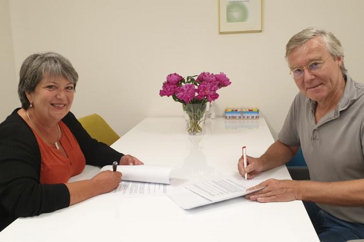 Nicolette van Erven en Franck Smit
